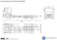 Renault Premium R11L 24S 6x2 4750