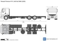 Renault Premium R11L 24S 6x2 5960