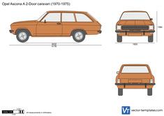 Opel Ascona A 2-Door caravan