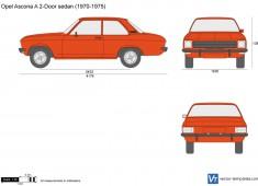 Opel Ascona A 2-Door sedan