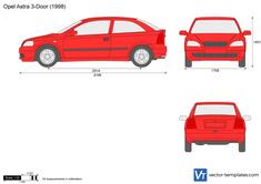 Opel Astra J 3-Door