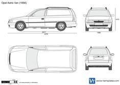 Opel Astra F Van