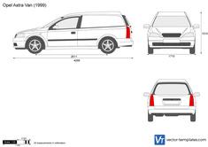 Opel Astra G Van