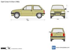 Opel Corsa A 3-Door