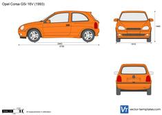 Opel Corsa B GSi 16V