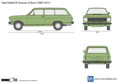 Opel Kadett B Caravan 2-Door
