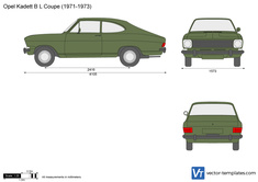 Opel Kadett B L Coupe