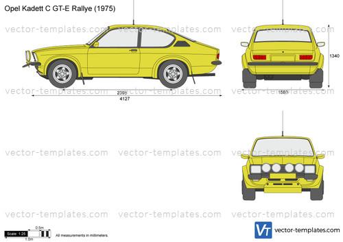 Opel Kadett C GT-E Rallye