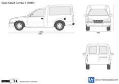 Opel Kadett E Combo