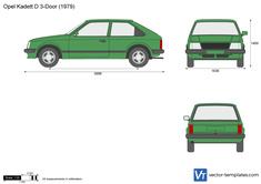 Opel Kadett D 3-Door