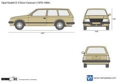 Opel Kadett D 3-Door Caravan