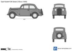 Opel Kadett K36 Sedan 2-Door