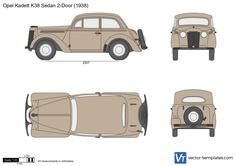 Opel Kadett K38 Sedan 2-Door