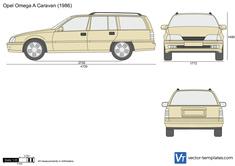 Opel Omega A Caravan