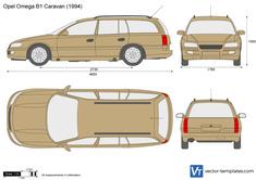Opel Omega B1 Caravan