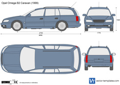 Opel Omega B2 Caravan