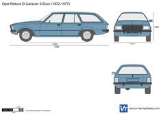 Opel Rekord D Caravan 5-Door