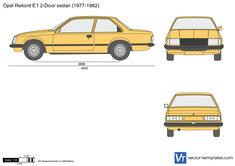 Opel Rekord E1 2-Door sedan