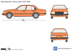 Opel Rekord E1 4-Door sedan