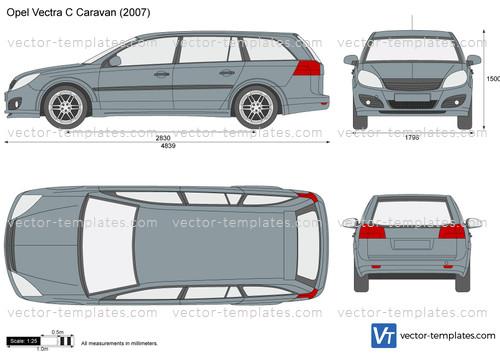 templates cars opel opel vectra c caravan. Black Bedroom Furniture Sets. Home Design Ideas