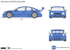 Opel Vectra C GTS Race Car