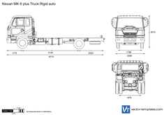 Nissan MK 6 plus Truck Rigid auto