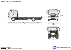 Nissan MK 6 plus Truck Rigid