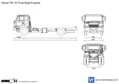 Nissan PK 10 Truck Rigid 9-speed