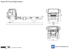 Nissan PK 9 Truck Rigid 9-speed