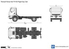 Renault Kerax 4x2 F4100 Rigid Day Cab