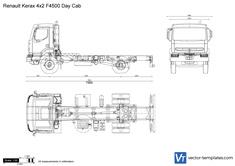 Renault Kerax 4x2 F4500 Day Cab