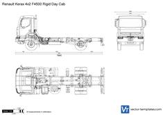 Renault Kerax 4x2 F4500 Rigid Day Cab
