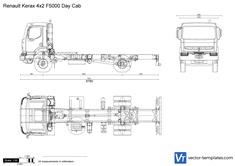Renault Kerax 4x2 F5000 Day Cab