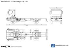 Renault Kerax 4x2 F5000 Rigid Day Cab