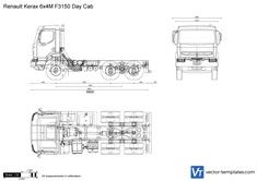Renault Kerax 6x4M F3150 Day Cab