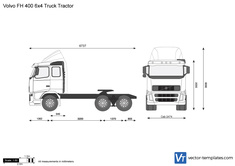 Volvo FH 400 6x4 Truck Tractor