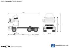 Volvo FH 440 6x4 Truck Tractor