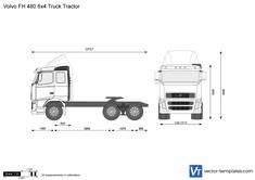 Volvo FH 480 6x4 Truck Tractor