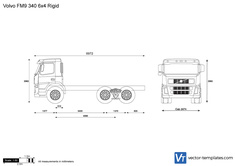 Volvo FM9 340 6x4 Rigid