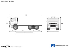 Volvo FM9 340 6x4