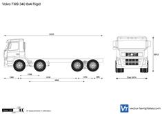 Volvo FM9 340 8x4 Rigid