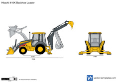 Hitachi 410K Backhoe Loader