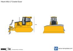 Hitachi 850J LT Crawler Dozer