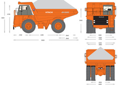 Hitachi EH1000 Dump Truck