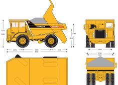 Hitachi EH650 Dump Truck