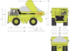 Hitachi EH700 Dump Truck v2