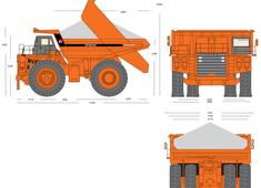 Hitachi EH3000 Dump Truck