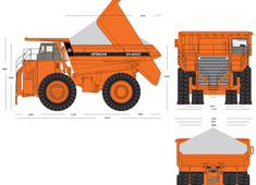Hitachi EH4000 Dump Truck