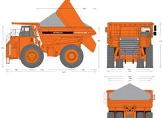 Hitachi EH5000 Dump Truck