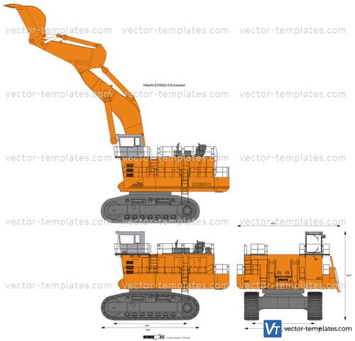 Hitachi EX5500-5 Excavator